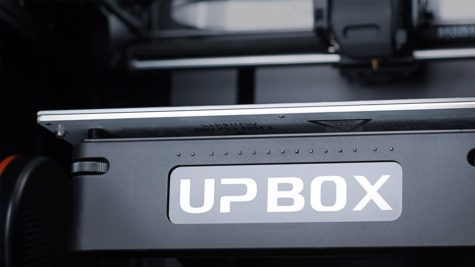 The new UP Box+ features fully automatic bed height sensing