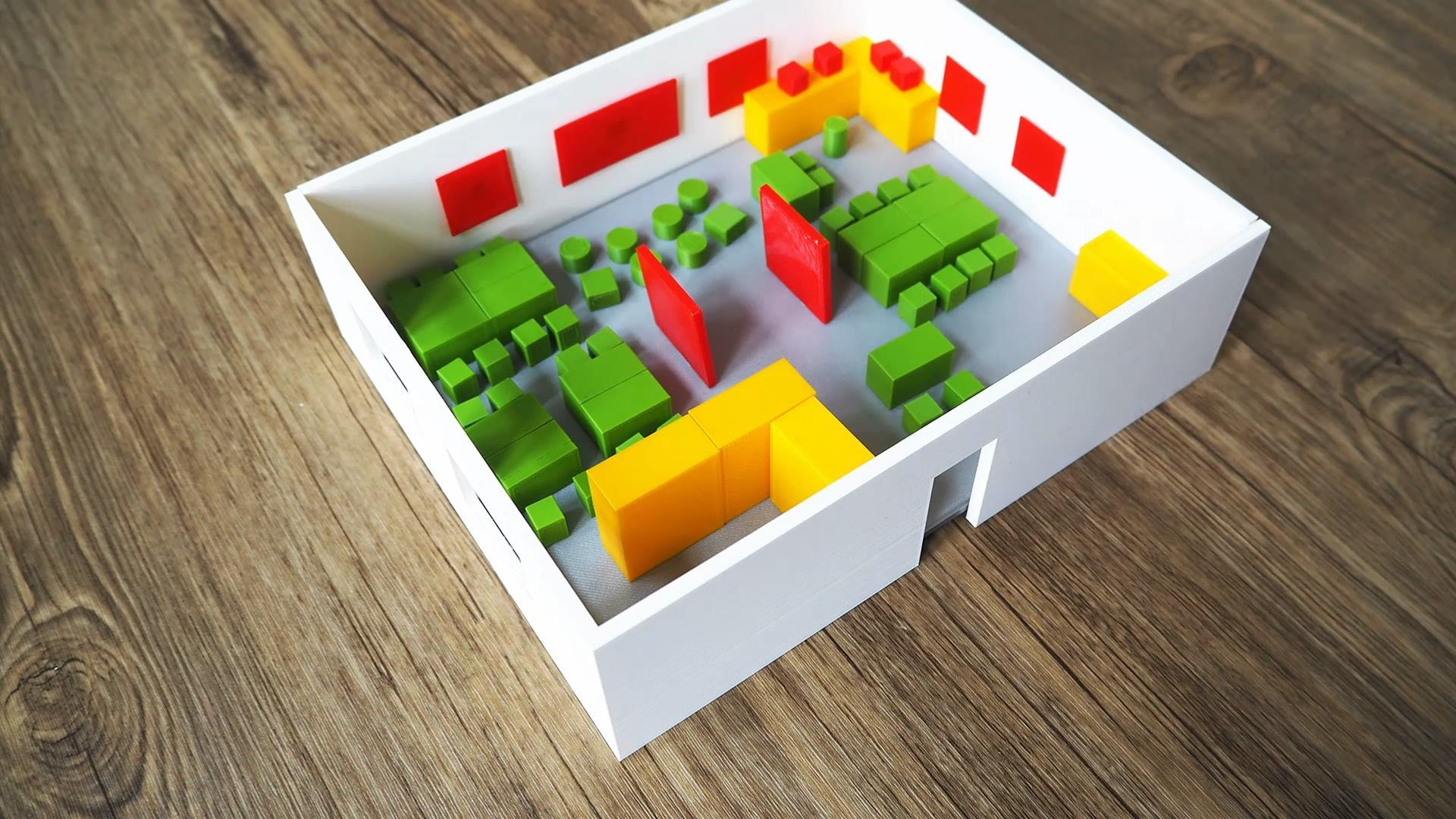 Engage your students in 3D printing as they redesign your classroom!