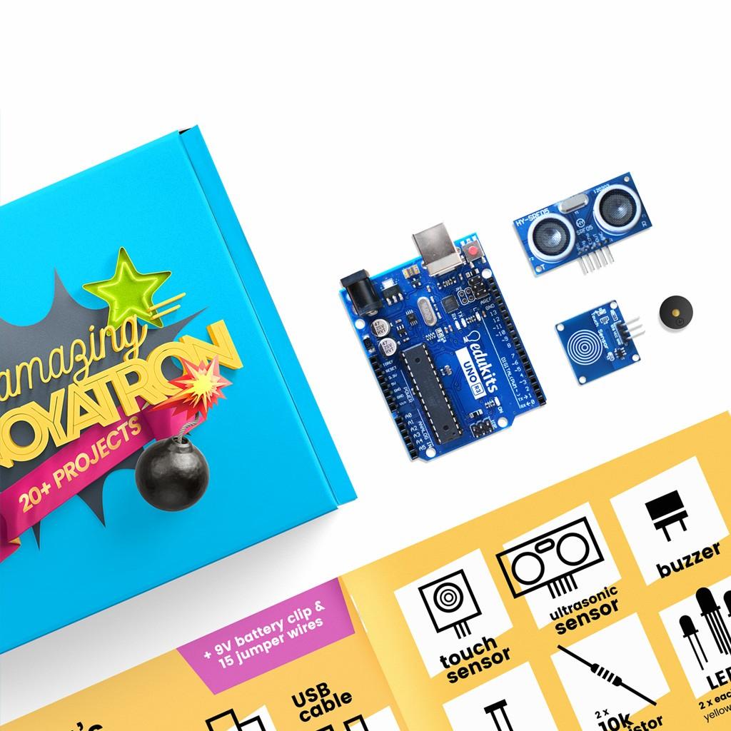 The Amazing Annoyatron Award Winning Coding Kit By Edukits Electronic Circuit Kits Australia Australian